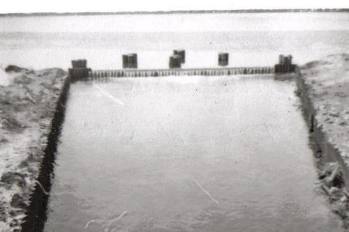 Old Duck Lake Dam 1956